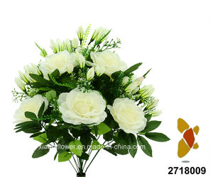 Artificial/Plastic/Silk Flower Rose Bush (2718009) pictures & photos