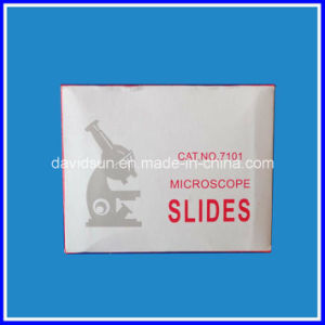 Microscope Slide 7101 and Cover Glass pictures & photos