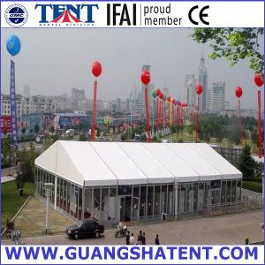 Big Tent with Glass Walls for Events