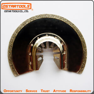 86mm Universal Fit Diamond-Coated Semicircle Saw Blade pictures & photos