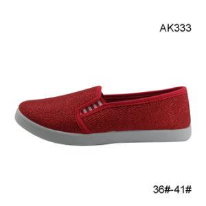 Fashion Canvas Casual Cheap Shoes Wholesal Women Men Footwear (AK333) pictures & photos