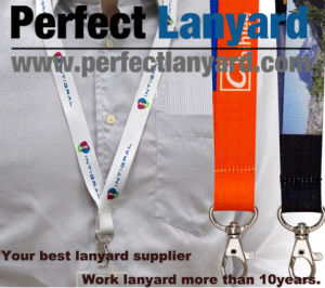 Work Card Lanyard with Customer Printing pictures & photos