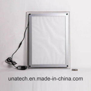 Acrylic Crystal Indoor Banner LED Light Box pictures & photos