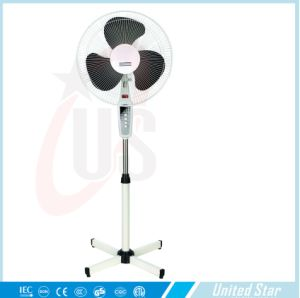 New 16′′ Electrical Plastic Cross Base Stand Fan (USSF-825) pictures & photos