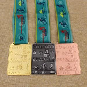 Custom Metal Dance/Run/Karate/Wimming/Taekondo/Race/Football/Scocer/Basketball/Wrestling/Badminton Medal pictures & photos