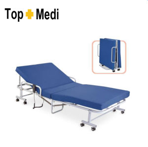 Topmedi Medical Two Function Electric Steel Hospital Bed pictures & photos