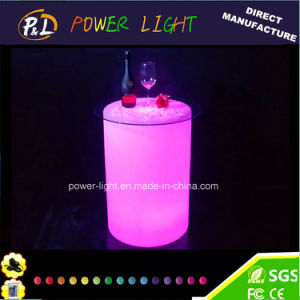 LED Furniture Illuminated Bar Table with Remote Controller pictures & photos