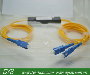 Fbt Type 3 Way Sc / Upc Fiber Optics Splitter, Sff Type PLC Splitter pictures & photos