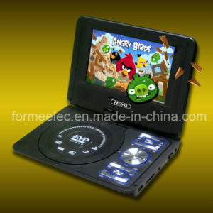 7 Inch Portable DVD with TV Game FM Radio Car DVD Player pictures & photos