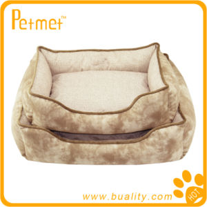 Reversible Rectangle Pet Bed with Removable Pillow (PT38330)