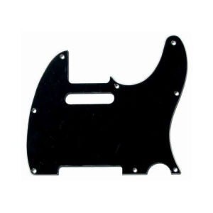 Hot Sale USA Standard Black 3ply Tele Guitar Pickguard pictures & photos