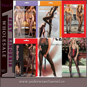Women Sexy Sheer Full Body Stocking Leggings Tights Pantyhose (5006) pictures & photos