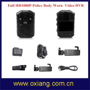 Multi-Functional 1080P Body Worn Camera for Police IR Night Vision IP65 Police Camera pictures & photos