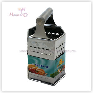 Multi-Functional Stainless Steel 8′vegetable/Fruit/Cheese Grater with Six Side pictures & photos