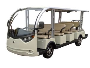 72V Battery Power Electric 14 Seat Tourist Bus pictures & photos