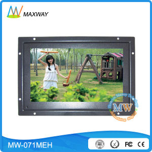 Small Size 7 Inch LCD Monitor with High Brightness 500 CD/M2 (MW-071MEH) pictures & photos