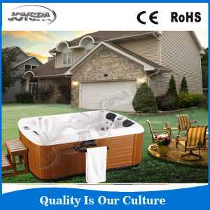 Wholesale Hot Luxury Freestanding Outdoor Whirlpool Sex Family SPA Tub Jy8013 pictures & photos