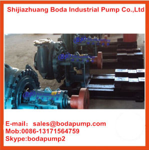 Centrifugal Chemical Processing Lime Ash Sand Slurry Pump pictures & photos