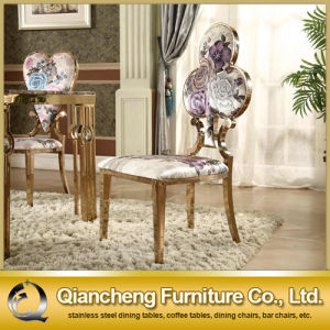 Luxury Design Beautiful Fabric Dining Chair pictures & photos