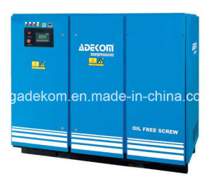 ETC Oil Free Non-Lubricated Rotary Screw Air Compressor pictures & photos