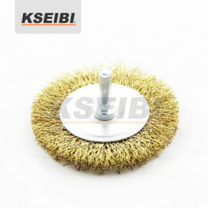 Kseibi Crimped Wire Brush with Shank of 6mm (1/4′′) pictures & photos