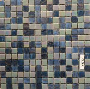 2016 Newest Design Blue Crystal Glass Mosaic for Swimming Pool (FYSB2315N) pictures & photos