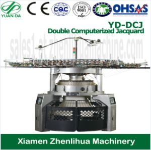 Double Computerized Jacquard Circular Knitting Machine (embroidery machine) (sewing machine) pictures & photos