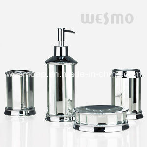 Shinning Polyresin Bathroom Set (WBP0850A) pictures & photos
