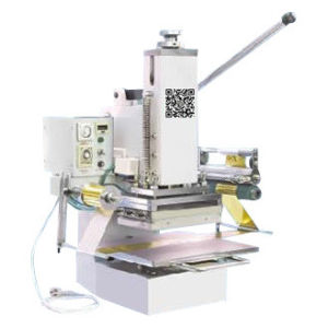 Tam-358 Cheap Pressure Manual Plastic Hot Foil Stamping Machine pictures & photos
