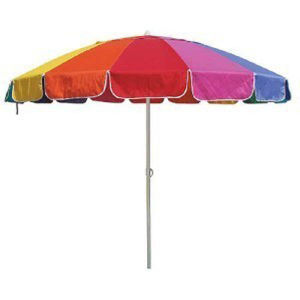 240cm*8k Beach Umbrella with Colorful Fabric, Waterproof, Upf50+, High Quality, Sun Umbrella pictures & photos