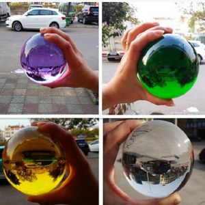 Wholesale Colorful Crystal Glass Ball pictures & photos