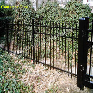 Anti-RAM Barrier with Ornamental Steel Fence (XM3-28) pictures & photos