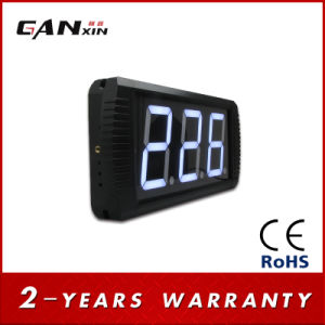 "[Ganxin] 4"" 3digital White LED Screen Digital Sport Interval Timer pictures & photos"
