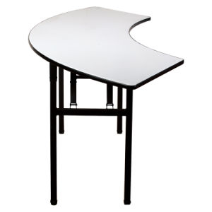 Modern Semi Circular Laminate Banquet Folding Table