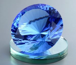 Multi Color New Cut Big Crystal Diamond Paperweight Wedding Centerpiece pictures & photos