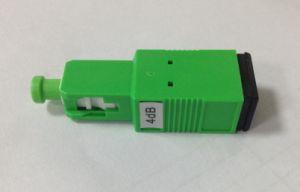 Sc/APC Plug-in Type Plastic Housing Fiber Optic Attenuator pictures & photos
