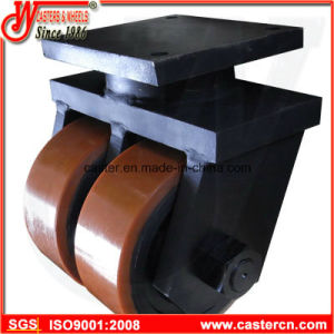 Ultra High Capacity Industrial Caster with Twin PU Wheel pictures & photos