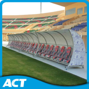 Shatter Proof Premier Soccer Player Seats/ Portable Football Dugouts Npy-VIP-6 pictures & photos