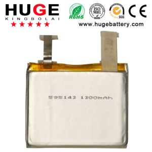 3.7V Li-Lopymer Battery 595143 1300mAh pictures & photos