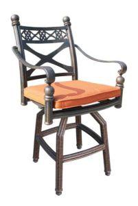 Garden Swivel Bar Chair Furniture pictures & photos