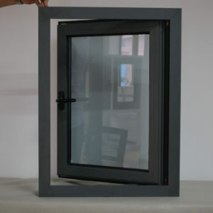 High Quality Powder Coated Thermal Break Aluminum Profile Casement Window K03020 pictures & photos
