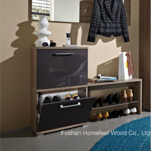 Hot Sale Wooden Shoe Cabinet (HF-EY08147) pictures & photos
