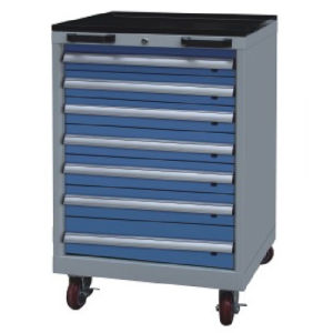 Westco Mobile Cabinet with Drawers (Workshop Trolley, Rolling Cabinet, MDC-1000-7)
