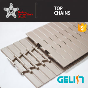 821-K750 Straight Run Double Hinge Plastic Tabletop Hinged Chain for Conveyor pictures & photos