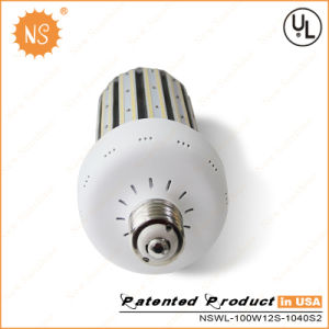 UL Listed Fin Aluminum 360 Degree LED Lamp E40 100W pictures & photos