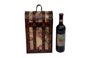 Wholesale Low MOQ Vintage Wine Packaging Box