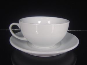 Big Porcelain Coffee Cup 350ml pictures & photos