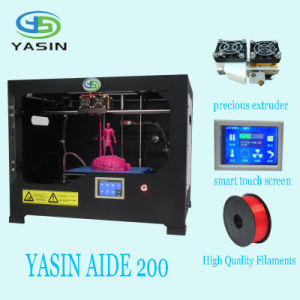 High Precision Large 3D Printer 220*200*200mm / Professional Metal Frame 3D Printer pictures & photos