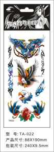 8.8*19cm Eagle Tattoo Stickers for Adult Ta22