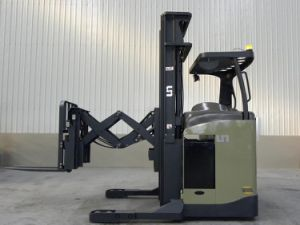 Un1.5t 1500kg Double Deep Reach Truck with Triplex 9.0m Mast (FBK15-AZ1) pictures & photos